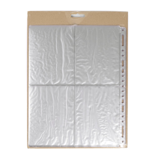 Panodia Lot de 10 feuillets transparents 4x5