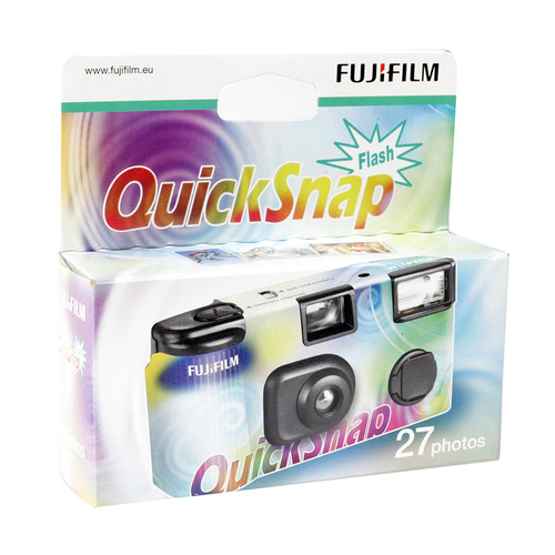 Fuji Jetable QuickSnap Flash