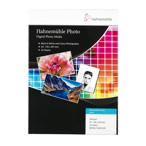 Hahnemühle Photo Luster 260g A4