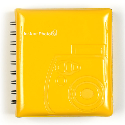 Album Instax mini Jaune