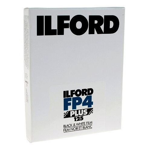 Ilford FP4 Plus 125 - 4x5''